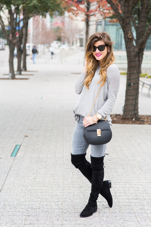Outstanding Grey Jeans Outfit Ideas For Women