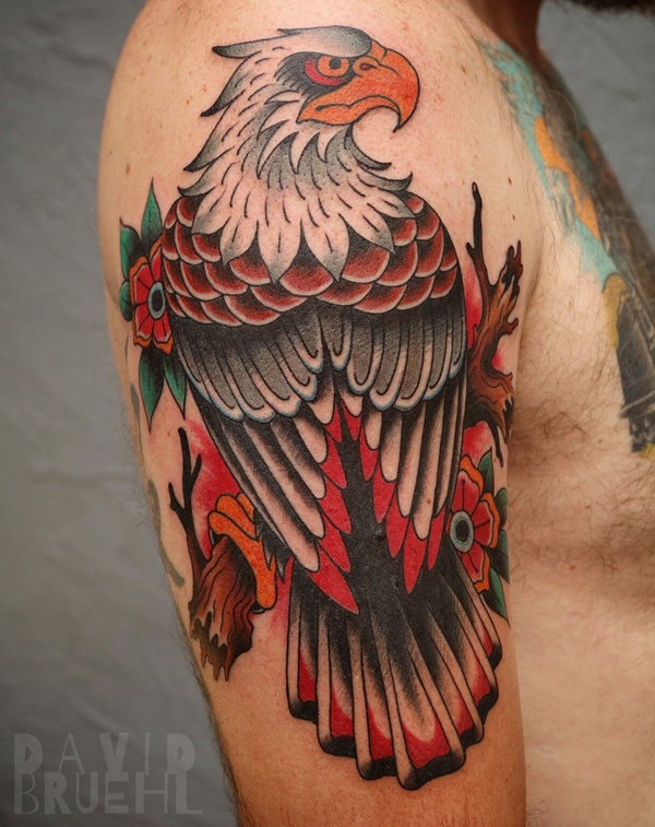 Small Eagle Tattoo Designs And Ideas For Men